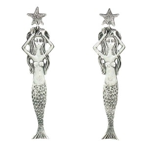Mermaid earrings 9.5g