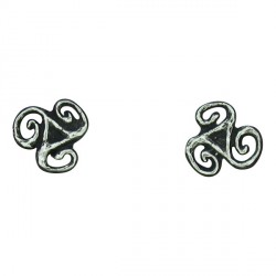 Small triskel earrings 0.8g