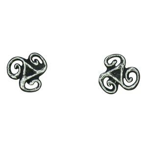 Small triskel earrings 0.8g