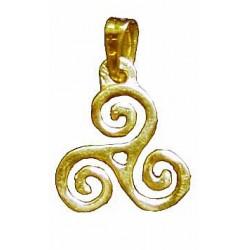 Toulhoat Triskel pendant