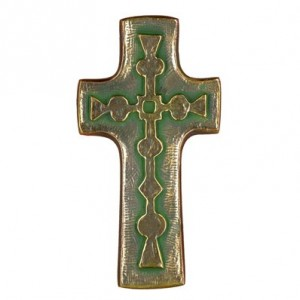 Toulhoat Small cross with geometric pattern