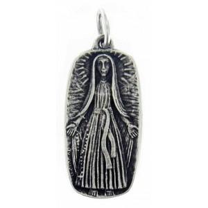 Virgin from Lourdes medal
