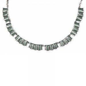 Toulhoat Pleated necklace 8 elts