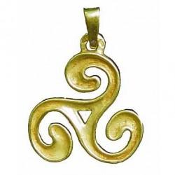 Toulhoat Intended triskel pendant