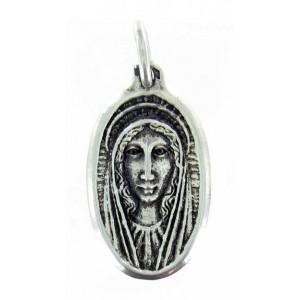 Médaille Vierge ovale