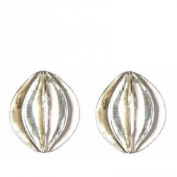 Onion earrings button
