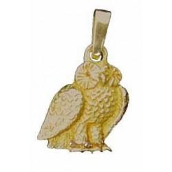 Toulhoat Breloque owl pendant