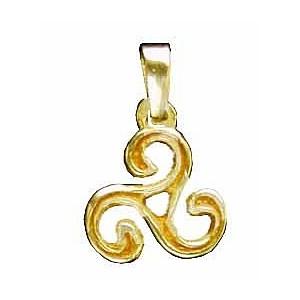 Toulhoat Small triskel pendant