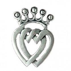 Toulhoat Heart of Vendée brooch