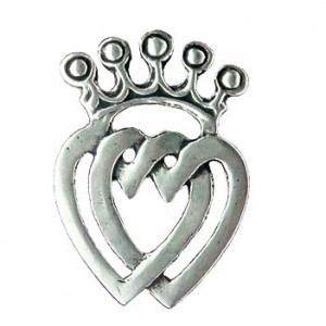 Toulhoat Heart of Vendée brooch