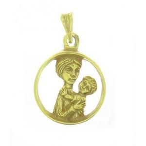 Médaille Toulhoat Vierge dans l'Anneau