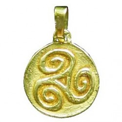 Pendentif Toulhoat triskel petite Médaille
