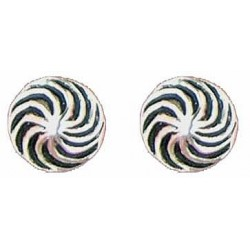 Whirly earrings button