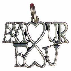 Pendentif Toulhoat amour fou