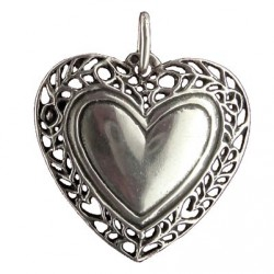 Toulhoat Gardland heart pendant
