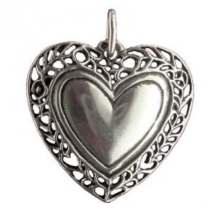 Pendentif Toulhoat cœur guirlande