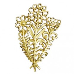 Broche Toulhoat grand bouquet