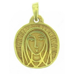 Médaille Toulhoat Vierge ronde