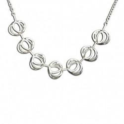 Toulhoat Strap necklace 7 elts