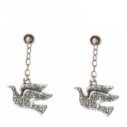 Birds earrings pendants