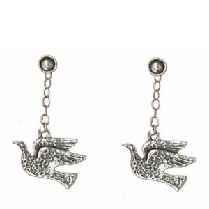 Birds earrings pendants