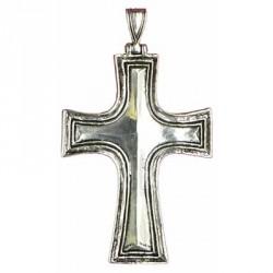 croix pectorale aux dièdres, bords rainurés