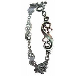 Bracelet Toulhoat motifs en S 5 elts