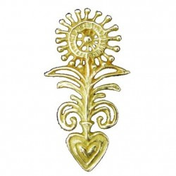 Toulhoat Small finial brooch