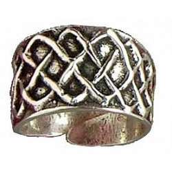 Knotwork cylinder ring (open)