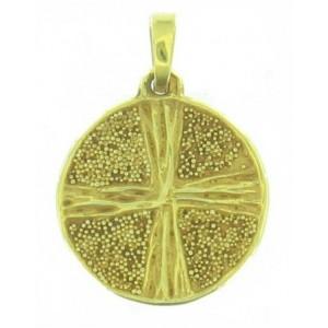 Médaille Toulhoat Croix sur granulation