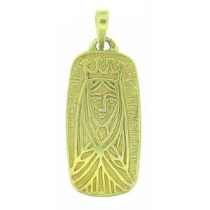 Médaille Toulhoat Vierge en rectangle