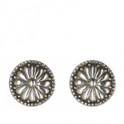 Daisy earrings button