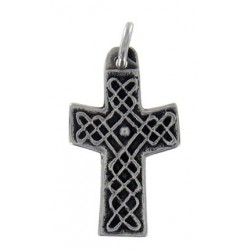 Knotwork cross V shape