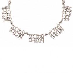 Toulhoat Fence necklace 5 elts
