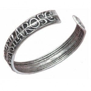 Bracelet Toulhoat écriture 17 cm