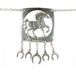 Toulhoat Horse necklace