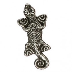 Toulhoat Lizard brooch