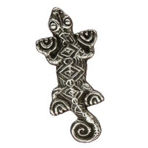 Broche Toulhoat lézard