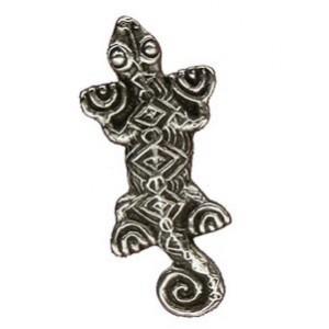 Toulhoat Lizard brooch