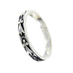 Ermine narrow ring