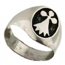 Ermine signet ring