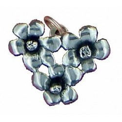Toulhoat 3 springflowers pendant