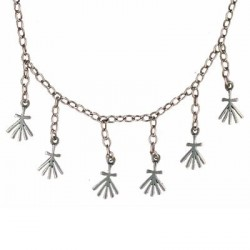 Collier Toulhoat hermines 6 elts