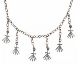 Toulhoat Ermine necklace 6 elts