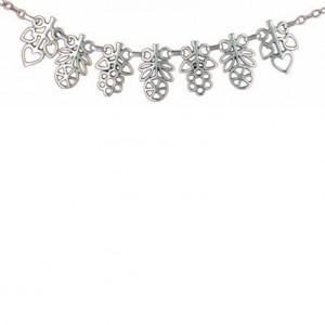 Toulhoat Flowers necklace 7 elts