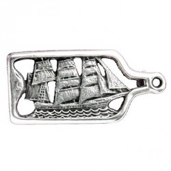 Toulhoat Sailing boat brooch