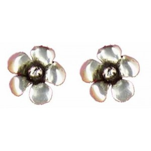 Springtime earrings button