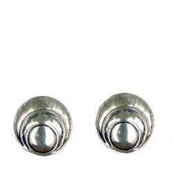 Waves earrings button