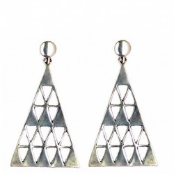 Triangle earrings pendants