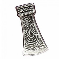 Toulhoat Axe brooch